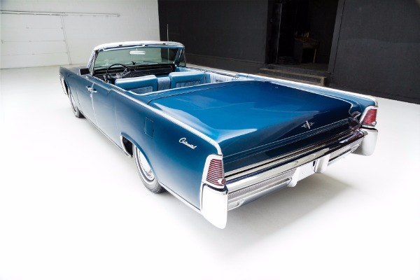 For Sale Used 1965 Lincoln Continental Metallic Blue, Loaded | American Dream Machines Des Moines IA 50309