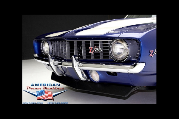 1969 Chevrolet Camaro Z28, Blue X-77 DZ 302 Z28