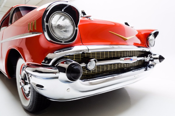For Sale Used 1957 Chevrolet Bel Air Hardtop Frame Off | American Dream Machines Des Moines IA 50309