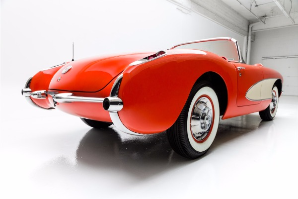 For Sale Used 1956 Chevrolet Corvette Convertible Dual Quads | American Dream Machines Des Moines IA 50309