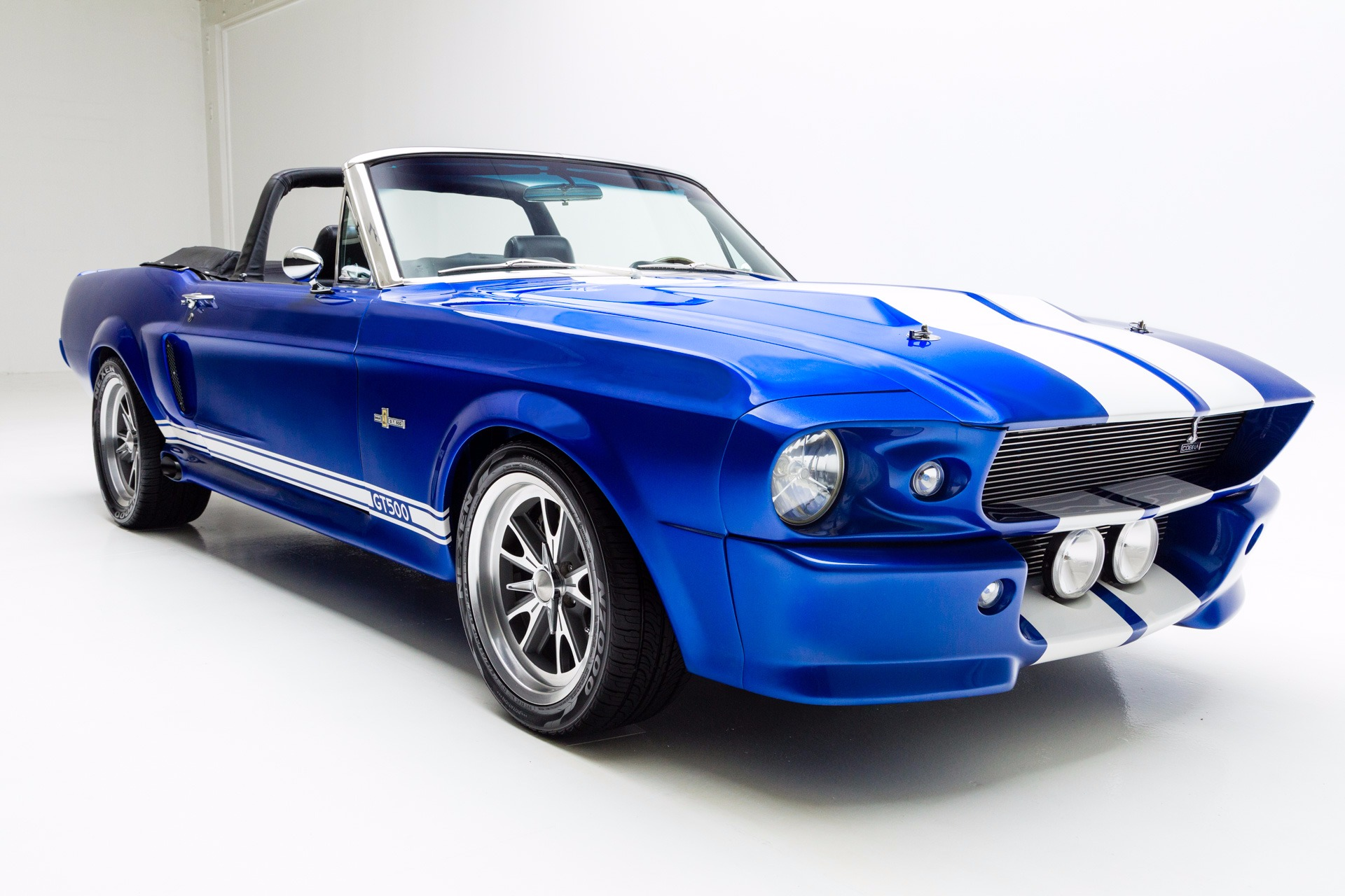 1967 Ford Mustang Convertible Eleanor 408/500