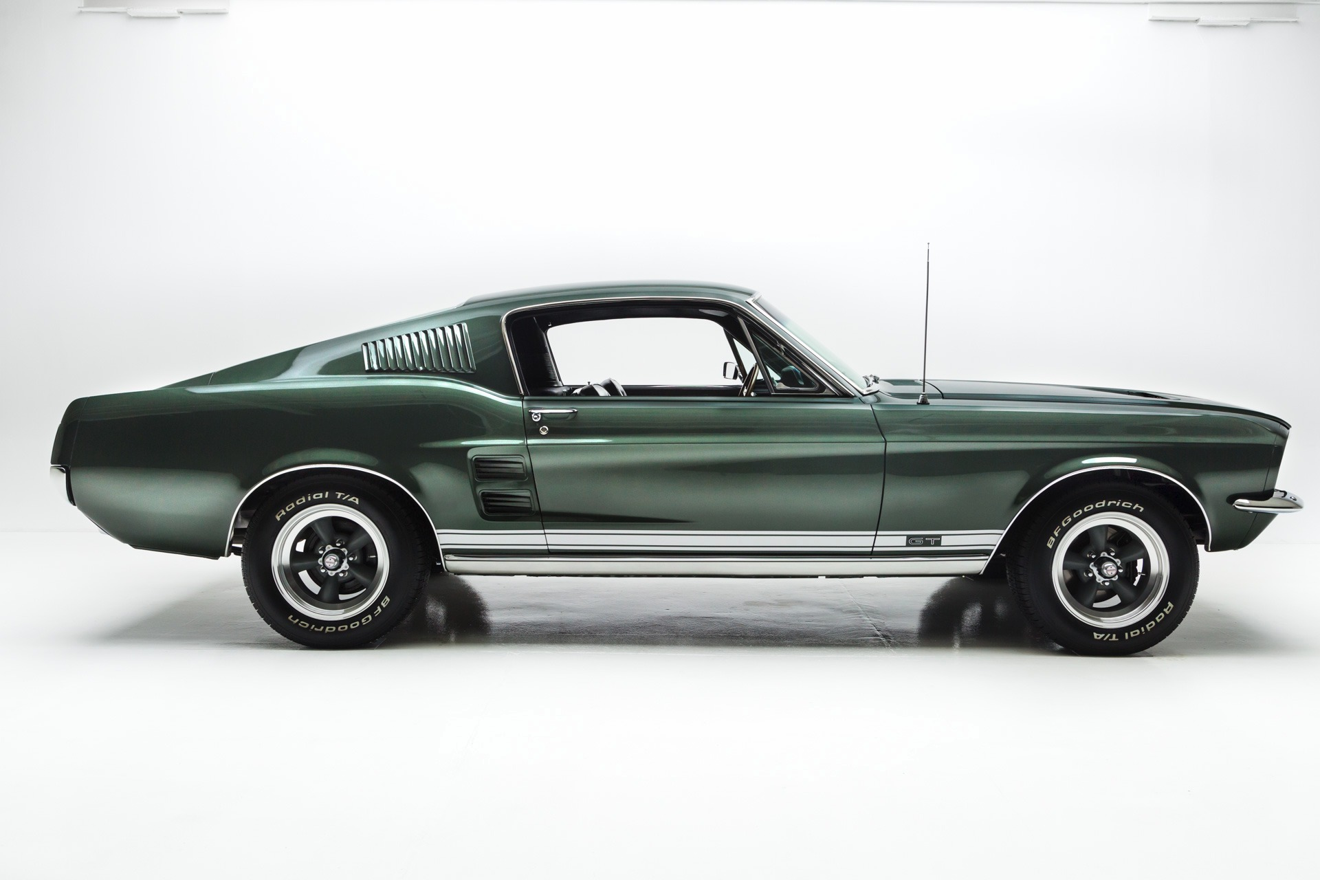 1967 Ford Mustang GT HiPo 289 4-Speed - American Dream Machines ...