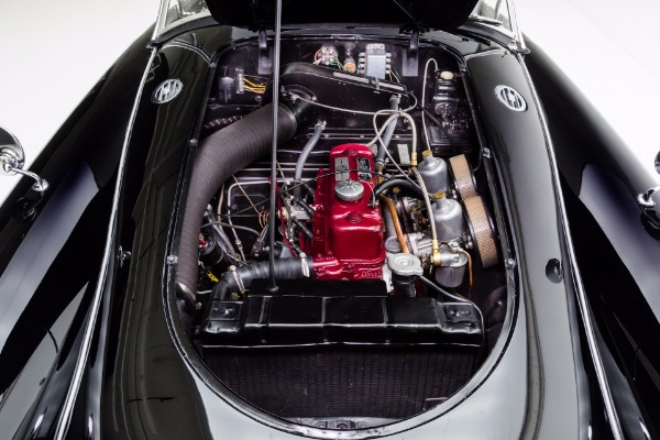 For Sale Used 1957 MG MGA Roadster Black Twin Carbs 2 tops | American Dream Machines Des Moines IA 50309