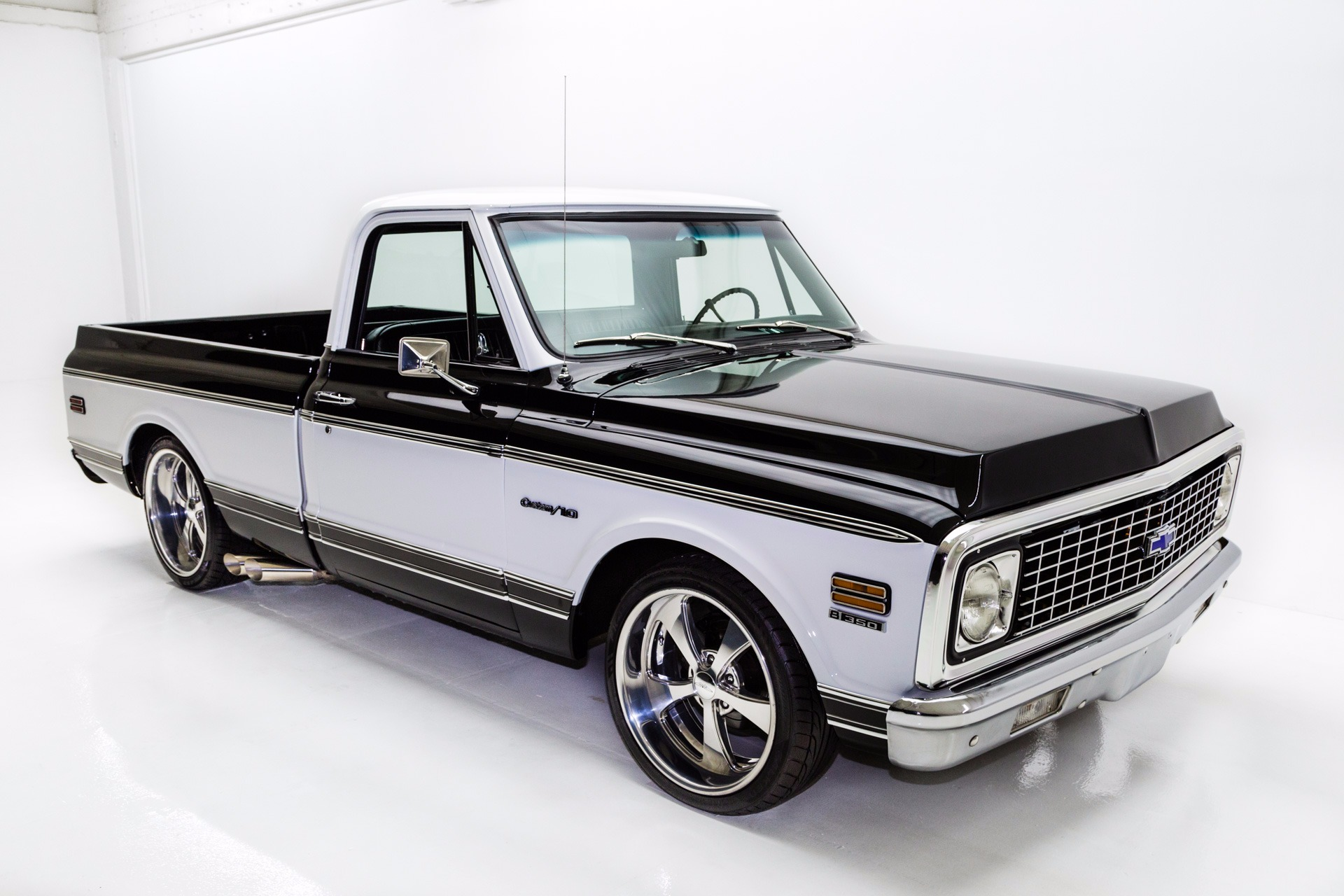 For Sale Used 1972 Chevrolet C10 Shortbox Fleetside | American Dream Machines Des Moines IA 50309