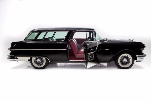 For Sale Used 1955 Pontiac Star Chief Safari Wagon Frame Off | American Dream Machines Des Moines IA 50309