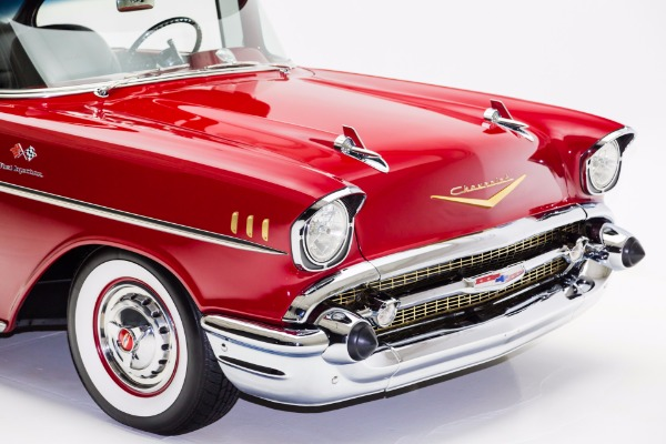 For Sale Used 1957 Chevrolet Bel Air Hardtop, LT1 A/C Loaded | American Dream Machines Des Moines IA 50309
