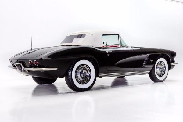 For Sale Used 1962 Chevrolet Corvette Black/Red 4 Speed | American Dream Machines Des Moines IA 50309