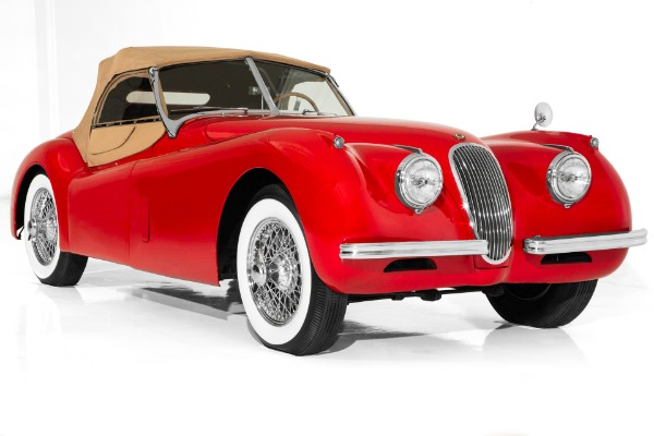 1954 Jaguar XK120 SE Convertible, Stunning car