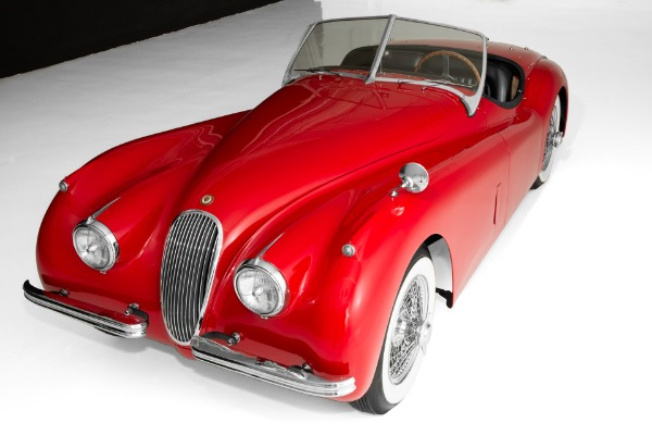 For Sale Used 1954 Jaguar XK120 SE Convertible, Stunning car | American Dream Machines Des Moines IA 50309