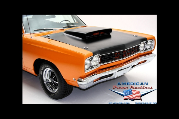 For Sale Used 1968 Plymouth Roadrunner 440 Big block | American Dream Machines Des Moines IA 50309