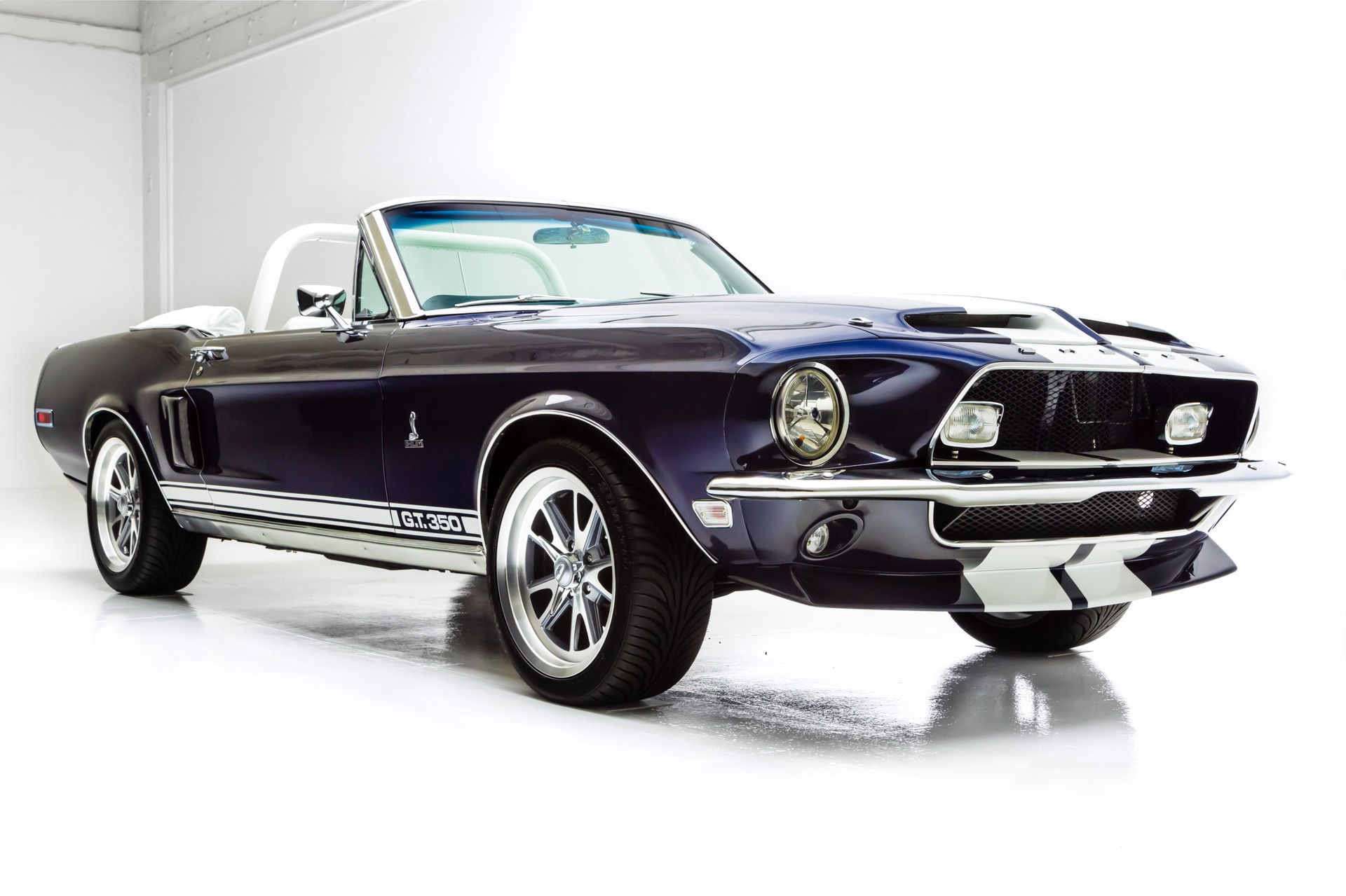1968 Ford Mustang Convertible Gt 350 Options American