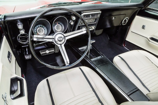 For Sale Used 1967 Chevrolet Camaro Red & Rolling on Chrome | American Dream Machines Des Moines IA 50309