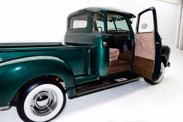 For Sale Used 1950 Chevrolet 3100 Pickup 5 Window, Disc Brakes, Dual Carbs | American Dream Machines Des Moines IA 50309