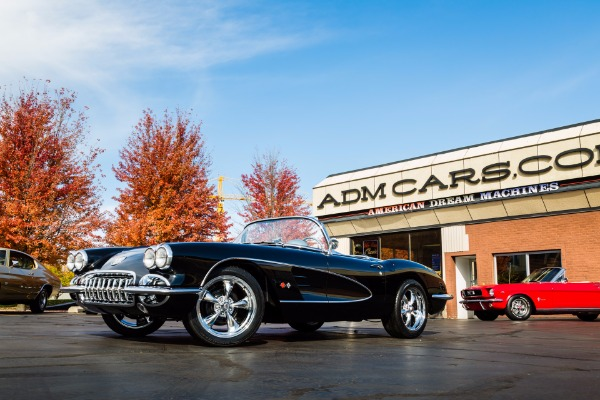 For Sale Used 1959 Chevrolet Corvette 350/447hp Gorgeous | American Dream Machines Des Moines IA 50309