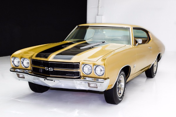 For Sale Used 1970 Chevrolet Chevelle SS 396 AC Build Sheet | American Dream Machines Des Moines IA 50309