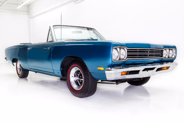 For Sale Used 1969 Plymouth Roadrunner Convertible, 383 | American Dream Machines Des Moines IA 50309