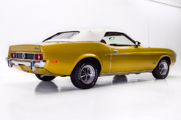 For Sale Used 1973 Ford Mustang Convertible 302 Auto AC | American Dream Machines Des Moines IA 50309