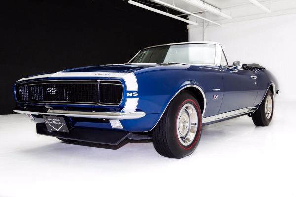For Sale Used 1967 Chevrolet Camaro Convertible, Real RS/SS | American Dream Machines Des Moines IA 50309