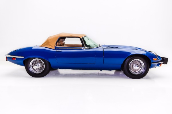 For Sale Used 1974 Jaguar E Type Series III OTS Roadster | American Dream Machines Des Moines IA 50309