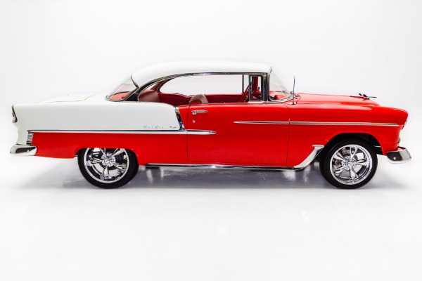 For Sale Used 1955 Chevrolet Bel Air 350 Auto A/C, New Chrome | American Dream Machines Des Moines IA 50309
