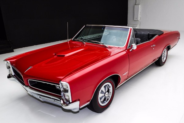 For Sale Used 1966 Pontiac GTO 389 Auto PS PB Real | American Dream Machines Des Moines IA 50309