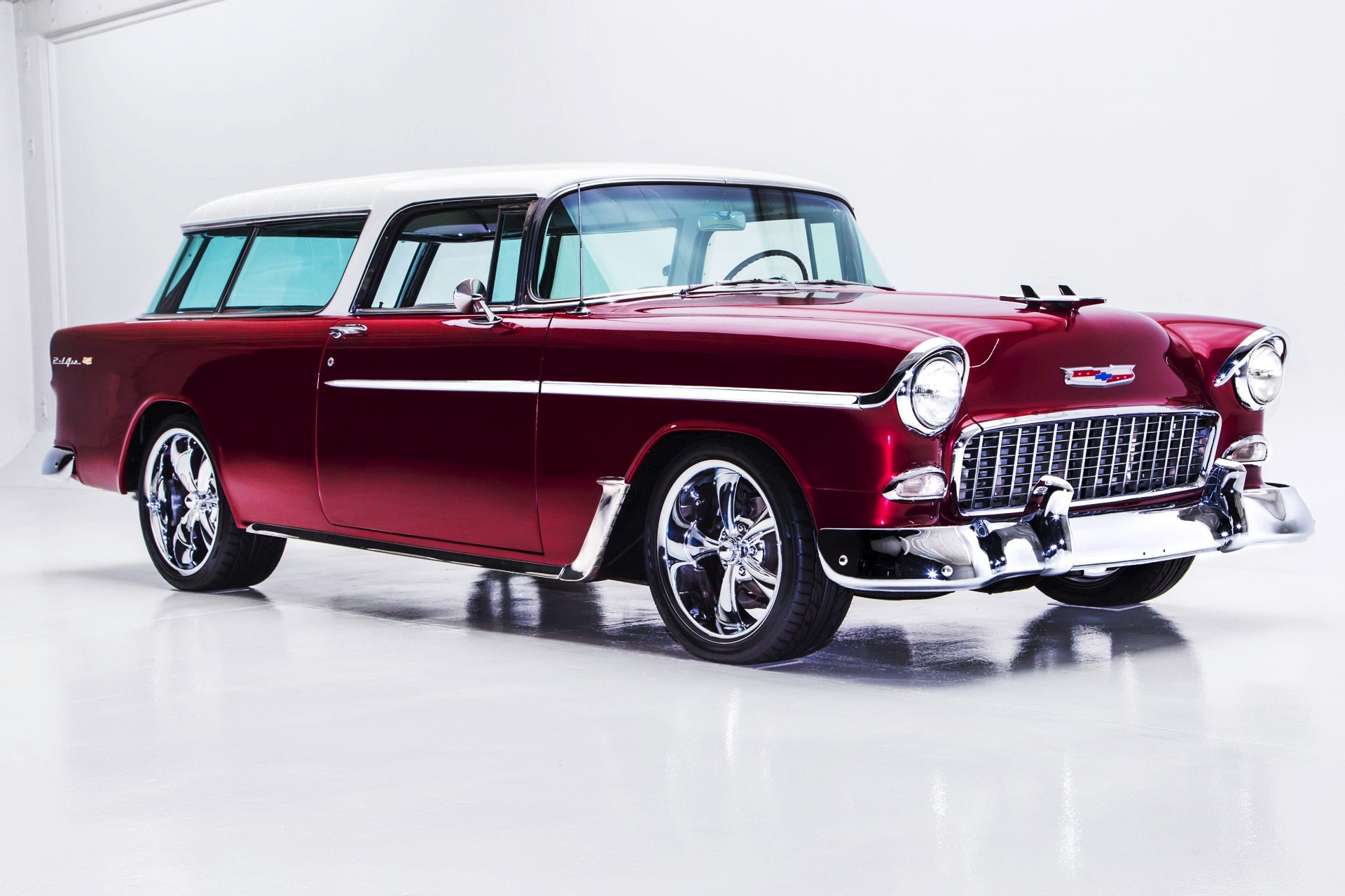 1955 Chevrolet Nomad 468 450hp Auto Ac American Dream