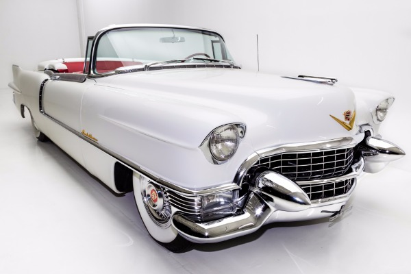 1955 Cadillac Eldorado Convertible, Red Leather