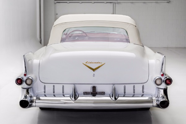For Sale Used 1955 Cadillac Eldorado Convertible, Red Leather | American Dream Machines Des Moines IA 50309