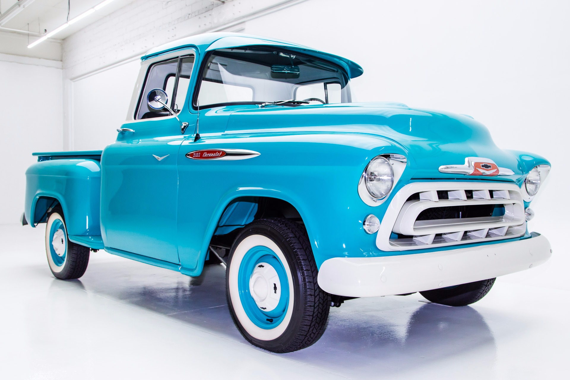 1957 Chevrolet Pickup Extensive Resto 383 425 Ac Chevy Truck Paint Colors