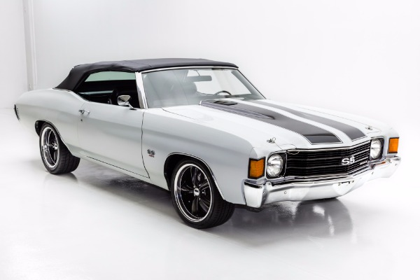 For Sale Used 1972 Chevrolet Chevelle Convertible SS Options | American Dream Machines Des Moines IA 50309
