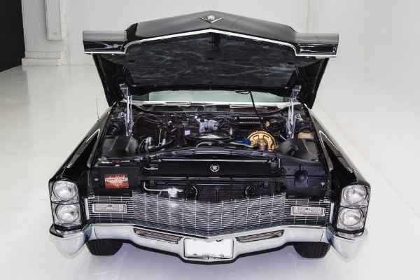 For Sale Used 1968 Cadillac DeVille Triple Black 472 | American Dream Machines Des Moines IA 50309