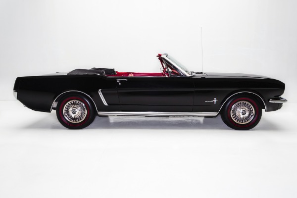 For Sale Used 1965 Ford Mustang Black Convertible 289 Auto | American Dream Machines Des Moines IA 50309