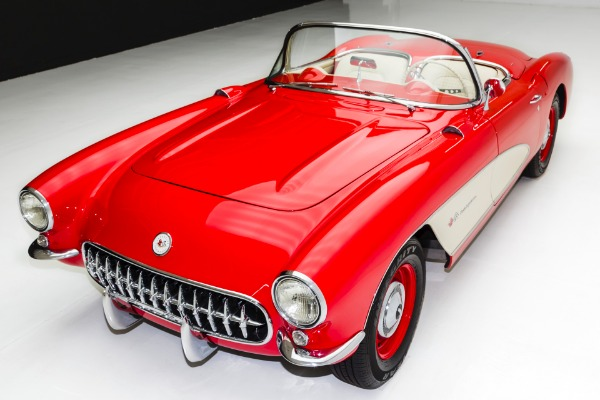 For Sale Used 1957 Chevrolet Corvette 283/283 Big Brake, Fuelie | American Dream Machines Des Moines IA 50309