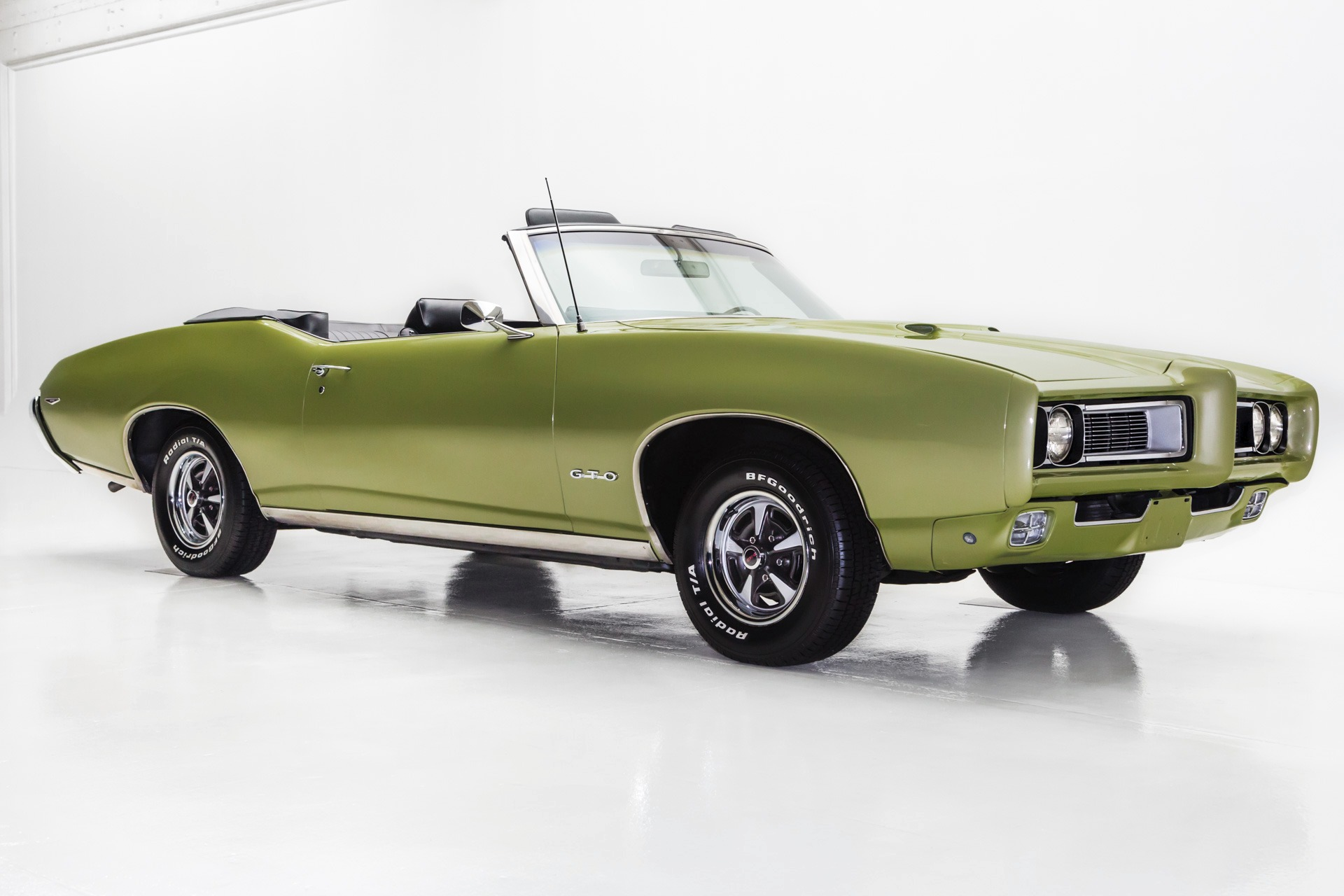 1969 Pontiac GTO Convertible 4-Speed Build Sheet -