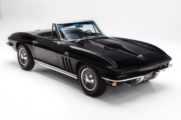 1965 Chevrolet Corvette Black #'s Match 396/425
