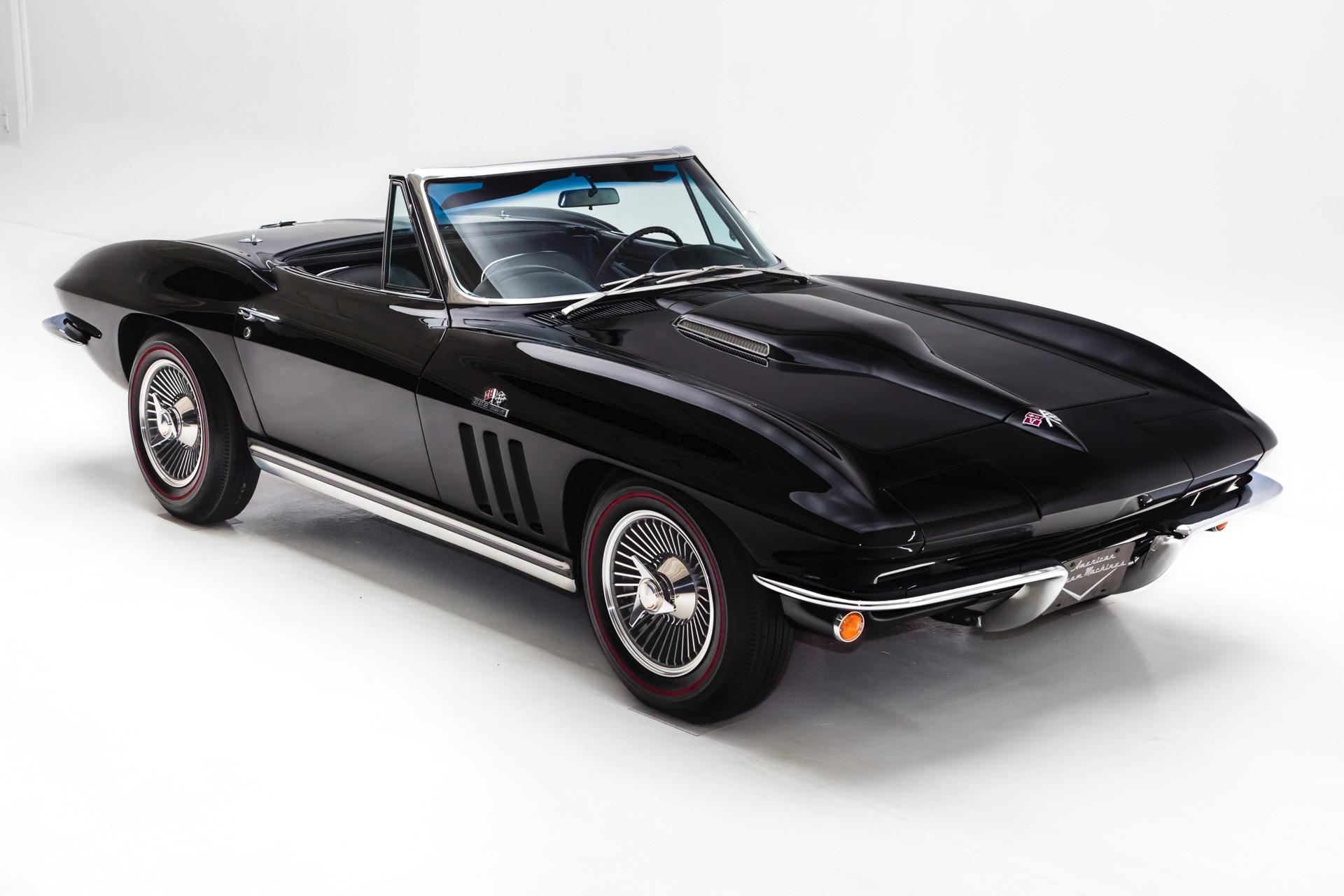 1965 Chevrolet Corvette Black #'s Match 396/425