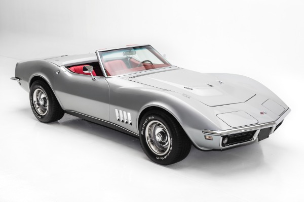 For Sale Used 1968 Chevrolet Corvette Silver 427/390 Roadster | American Dream Machines Des Moines IA 50309