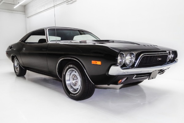 For Sale Used 1972 Dodge Challenger Black TX9 #'s Match 340 | American Dream Machines Des Moines IA 50309
