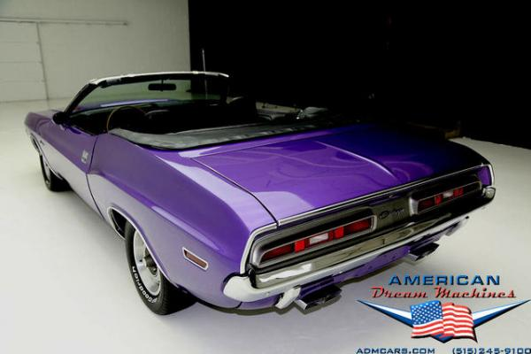 For Sale Used 1971 Dodge Challenger Convertible 383 Big block 727 | American Dream Machines Des Moines IA 50309
