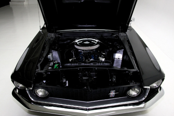 For Sale Used 1969 Ford Mustang Convertible Triple black 302 Auto | American Dream Machines Des Moines IA 50309