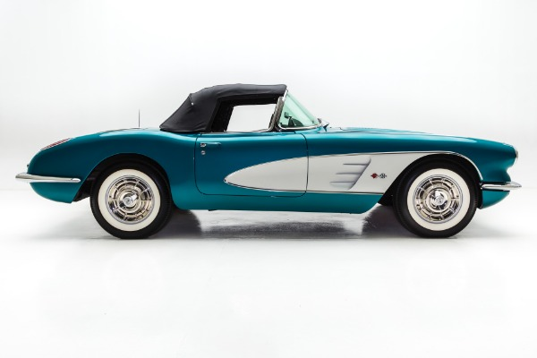 For Sale Used 1958 Chevrolet Corvette Rare Regal Turquoise | American Dream Machines Des Moines IA 50309