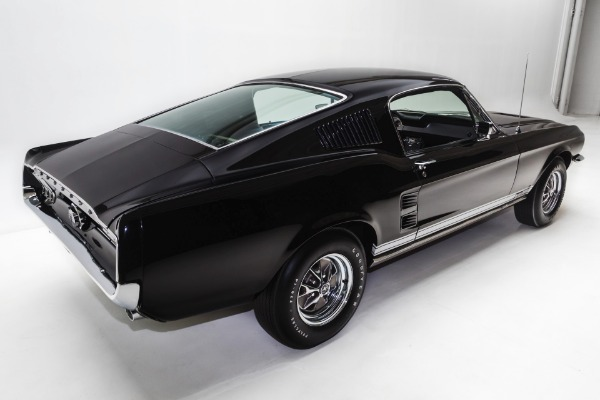 For Sale Used 1967 Ford Mustang Fastback Rare Raven Black, S Code 390 Marti | American Dream Machines Des Moines IA 50309