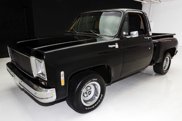 For Sale Used 1973 Chevrolet Pickup Cheyenne C10  Matching 454 | American Dream Machines Des Moines IA 50309