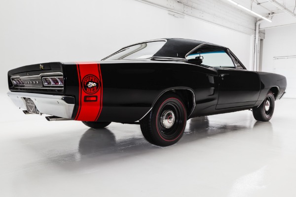 For Sale Used 1969 Dodge Coronet Super Bee, Triple Black | American Dream Machines Des Moines IA 50309