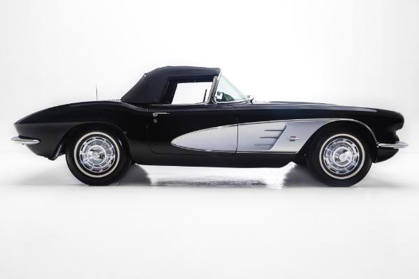 1961 Chevrolet Corvette Triple Black 4-Spd A/C
