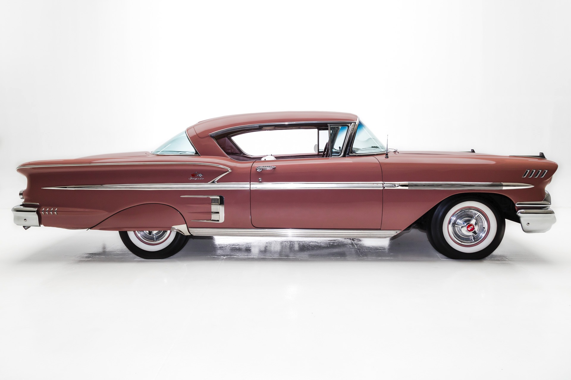 For Sale Used 1958 Chevrolet Impala Coral (Time Bubble Car) | American Dream Machines Des Moines IA 50309