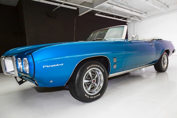 For Sale Used 1969 Pontiac Firebird Convertible 350 Automatic | American Dream Machines Des Moines IA 50309