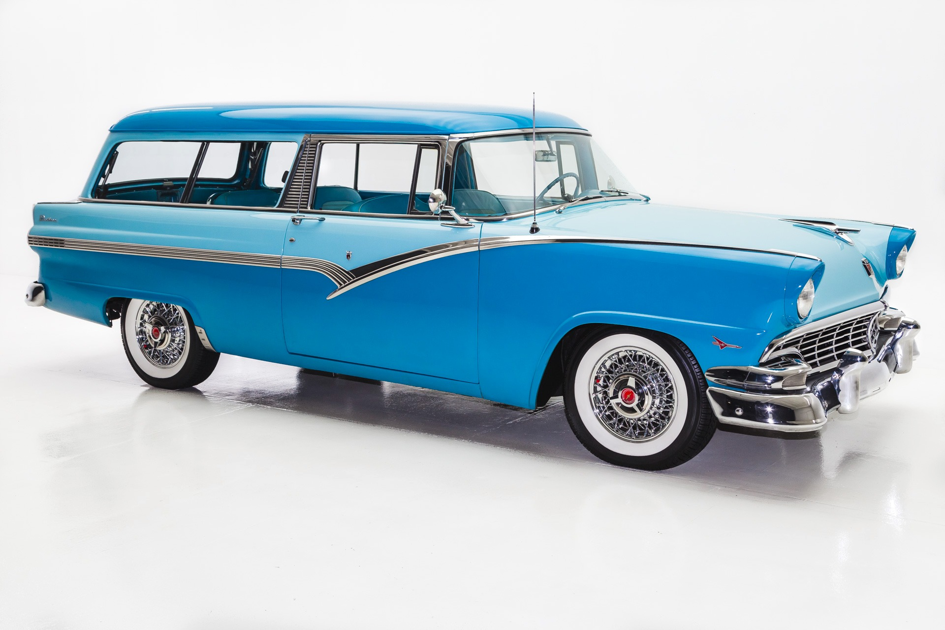 1956 Ford Parklane 2 Door Wagon V8 Very Rare - American Dream ...