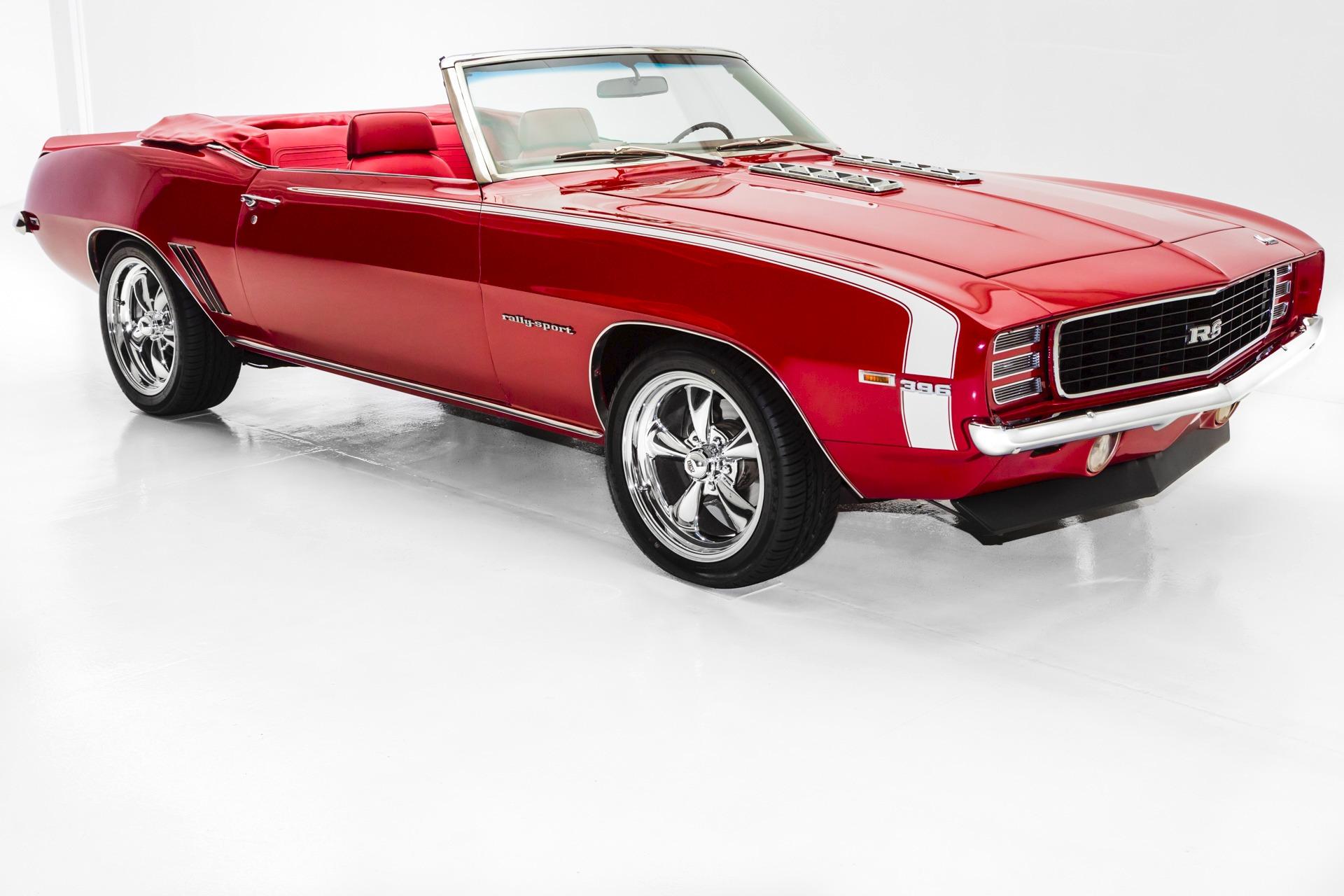 1969 Chevrolet Camaro Convertible 396 4 Spd Rs