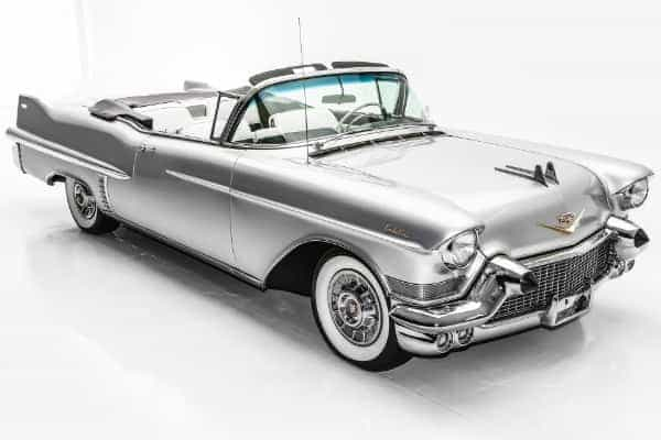 1957 Cadillac Series 62 Silver,  Black & White Int.